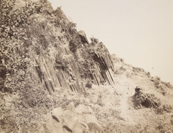 Basaltic columns on the Island of Salsette [Bombay]